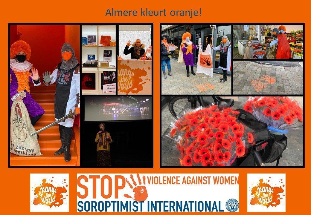 """Officiële lancering """"Orange the World 2020"""""""