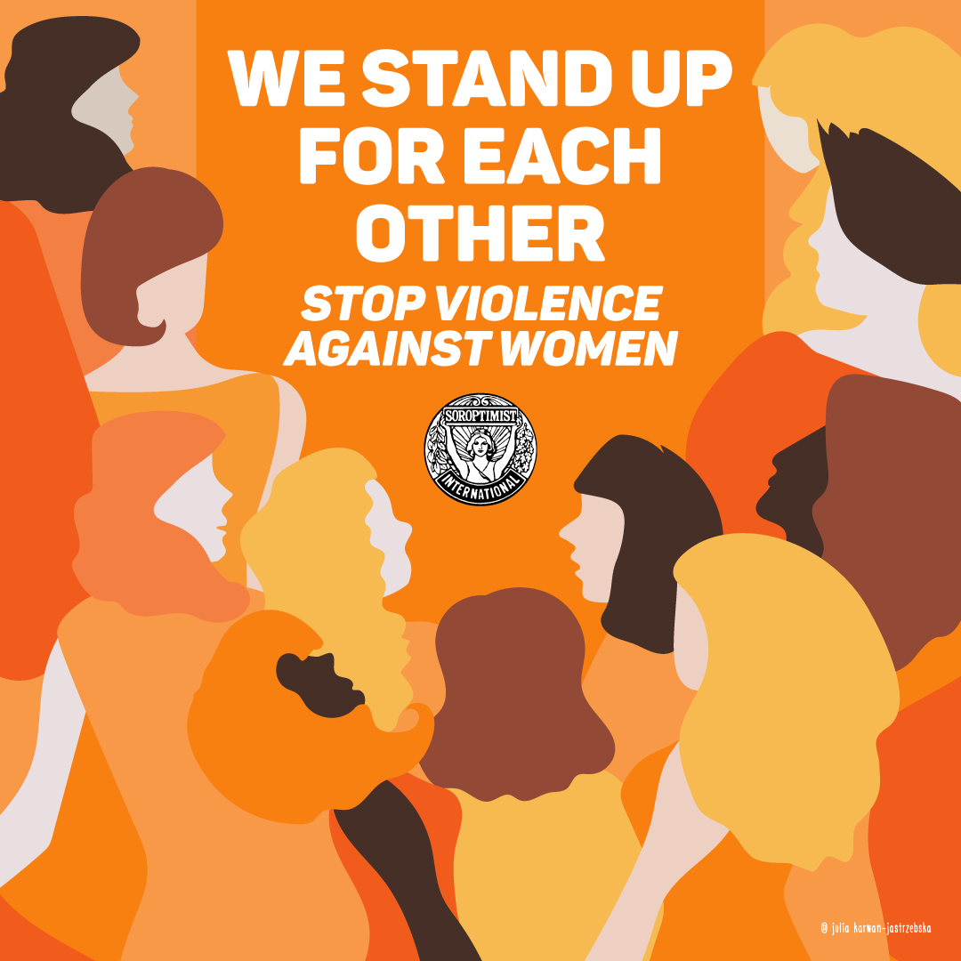 We stand up for each other - Orange The World 2020